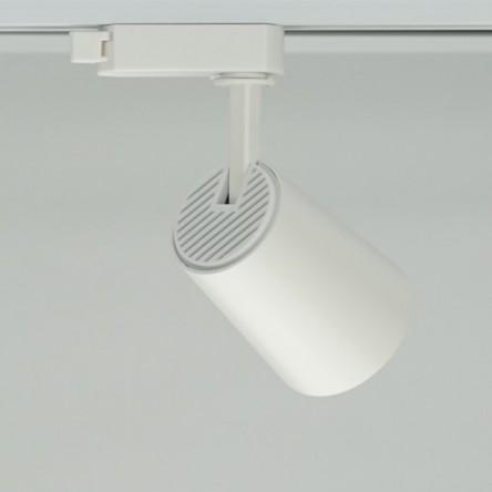 Трековый светильник Feron AL100 COB 8W 4000K черный/белый