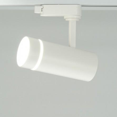 Трековый светильник Feron AL106 18W белый/черный