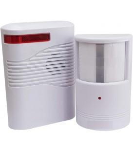 Беспроводная сигнализация сирена + датчик движения