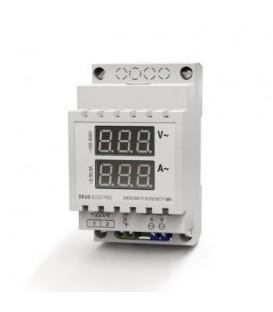 Амперметр-вольтметр цифровой переменного тока однофазный АВ1