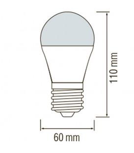 LED лампа Horoz Metro-1 10W E27 4200K 12-24