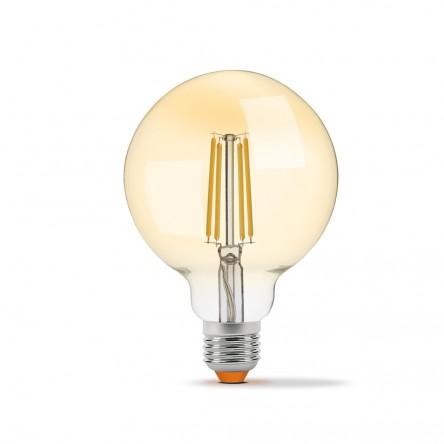 LED лампа VIDEX Filament G95FAD 7W E27 2200K 220V бронза диммируемая