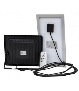 Прожектор светодиодный с солнечной панелью Horoz TIGER-10 10W 6400K