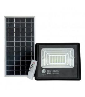 Более Прожектор светодиодный с солнечной панелью Horoz TIGER-40 40W 6400K