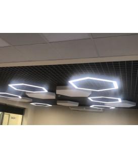 """Светодиодный светильник """"Сота-700"""" Nami Lighting 48W"""