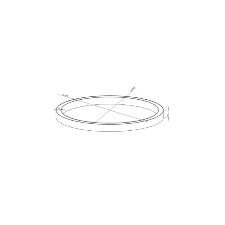 Светодиодное кольцо Nami Lighting 76W