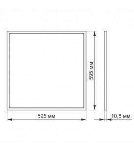 Светодиодная панель Horoz Galaxy Армстронг 40W 600*600