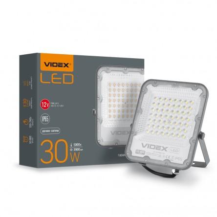 Светодиодный прожектор VIDEX PREMIUM 20W 5000K 12-24V White