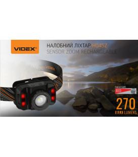 Более Налобный светодиодный фонарик H045Z VIDEX 270Lm 5000K