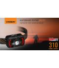 Налобный светодиодный фонарик H025C VIDEX 310Lm 5000K