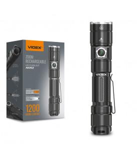 Портативный светодиодный фонарик A105Z VIDEX 1200Lm 5000K