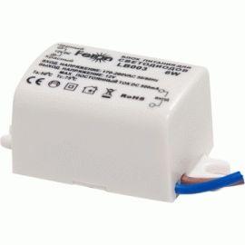 Трансформатор для LED ленты Feron LB003 6W 12V IP20