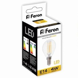 Светодиодная лампа Feron LB-61 4W Е14