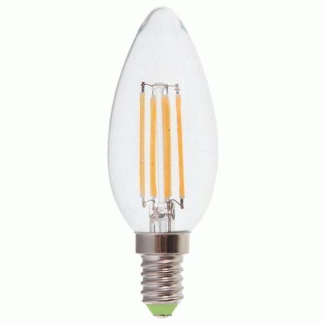 Светодиодная лампа Feron LB-58 4W E14 С37