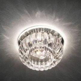 C1010 JCD9 прозрачный с led подсветкой 2.5W (4000K) Max 35W