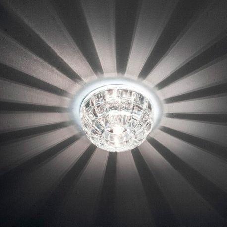 JD87 G9 прозрачный с LED подсветкой 2.5W (4000k) Max 35W