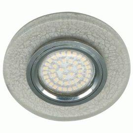 Более Точечный светильник Feron 8989-2 MR16 белый серебро led подсветкой 3W 4000K