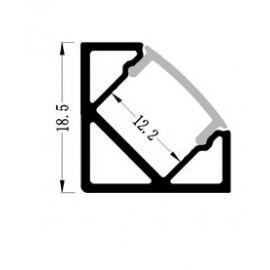 Профиль для LED-ленты угловой ПФ-17