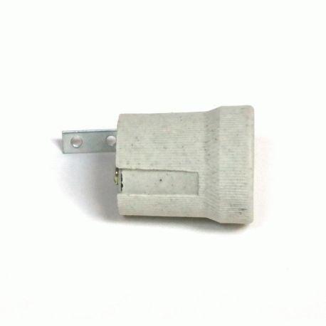 Патрон Е27 керамический + планка