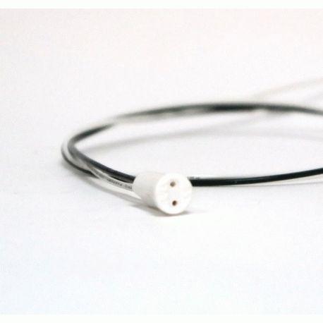Патрон G4 керамический, провода 50 см, для люстр