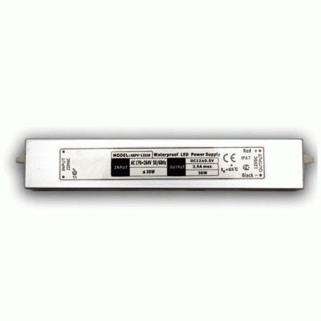 Герметичный блок питания LED-tec 12V 30W