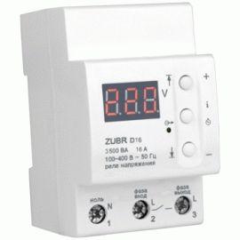Реле напряжения Zubr D16 3,5кВт