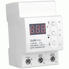 Реле напряжения Zubr D32 7,0кВт