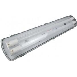 Более Влагозащищенный светодиодный светильник ЛПП 2*18(16) IP65
