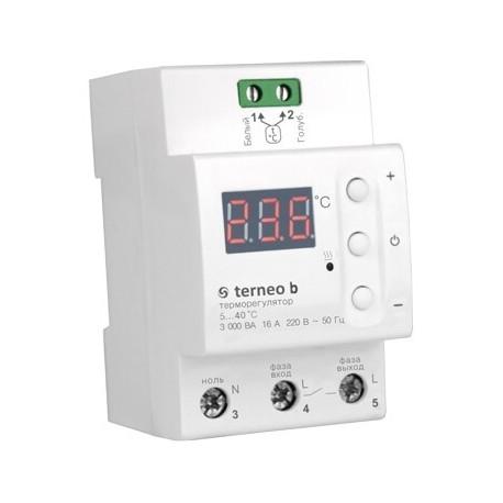 Терморегулятор цифровой на DIN-рейку Terneo B