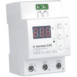 Терморегулятор цифровой Terneo B20 на DIN-рейку