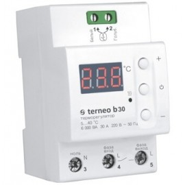 Более Терморегулятор на DIN-рейку Terneo B30 высокой мощности