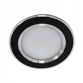 Более Светодиодный светильник Feron AL527 5W 4000К круг черный