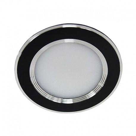 Светодиодный светильник Feron AL527 5W 4000К круг черный