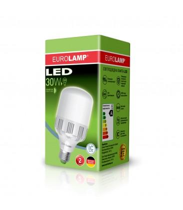 Светодиодная лампа EUROLAMP сверхмощная 30W E27