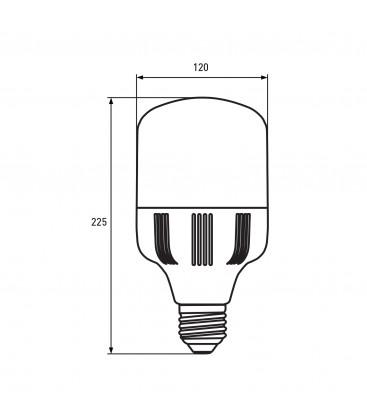 Светодиодная лампа EUROLAMP сверхмощная 40W E27 6500K
