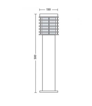 Садово-парковый светильник Horoz HL 297 Е27