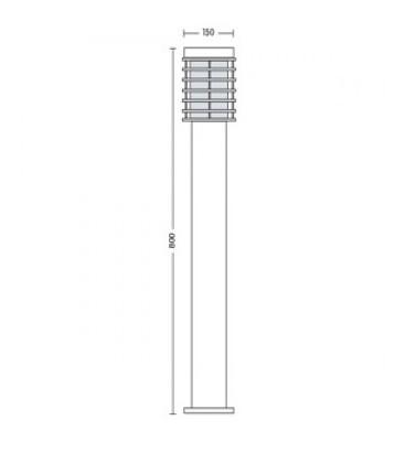 Садово-парковый светильник Horoz PALMIE-4 Е27