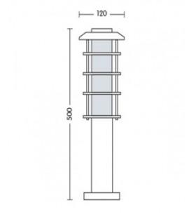 Садово-парковый светильник Horoz HL 202 Е27