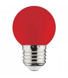 Более Цветная ЛЕД лампа Horoz Rainbow 1W E27 G45