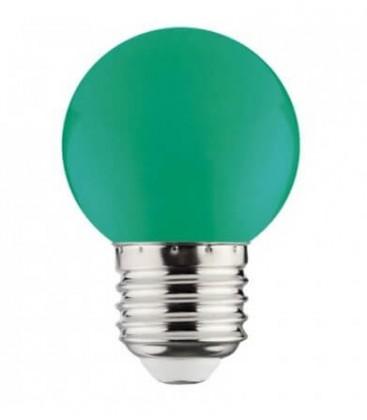 Цветная светодиодная лампа Horoz 1W E27 A45