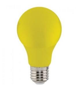 Цветная светодиодная лампа Horoz 3W E27 A60