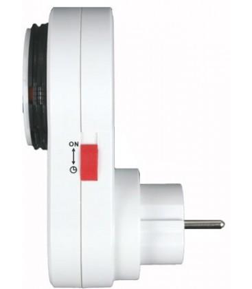 Розетка с таймером механическая суточная Lemanso TM 05