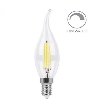 Светодиодная лампа Feron LB-69 4W E14 CF37 Эдисона