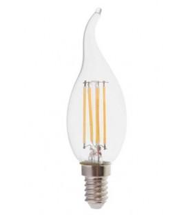 Светодиодная лампа Feron LB-159 6W свеча на ветру