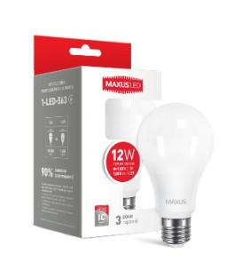 LED лампа Maxus A65 12W 220V E27