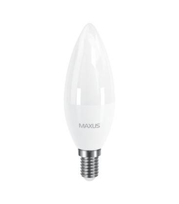 LED лампа Maxus C37 CL-F 8W 220V E14
