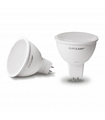 LED Лампа ЕКО dimmable MR16 5W GU5.3 4000K