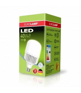 Светодиодная лампа EUROLAMP LED ЕКО A65 20W E27
