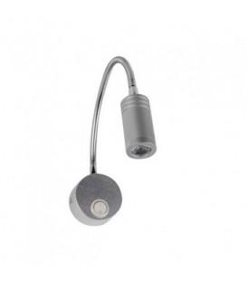 Светодиодная подсветка для картин Horoz 3W серебро