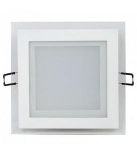 Более Светодиодный светильник Horoz Maria-12 12W врезной квадрат